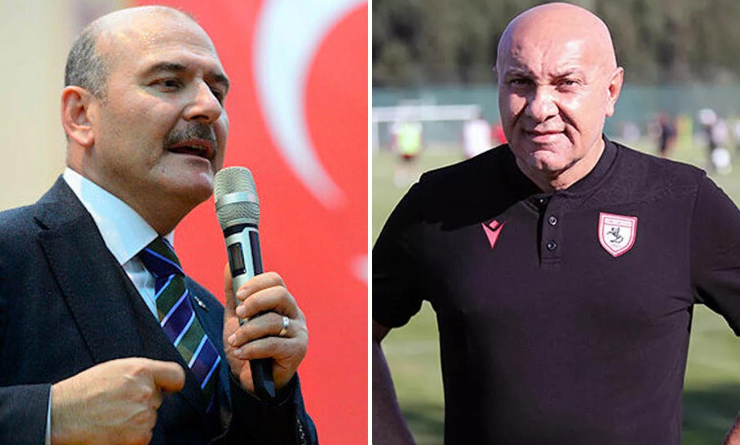 Soylu'nun Suç Duyurusunda Bulunduğu Samsunspor Başkanı: 'Yanlış Anlaşıldım'
