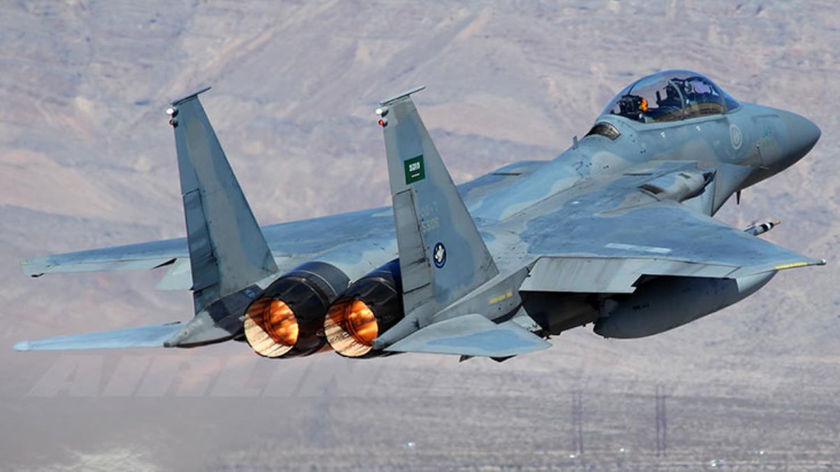 Suudi Arabistan F-15'leri, Yunanistan'la ortak tatbikat için Girit'e indi
