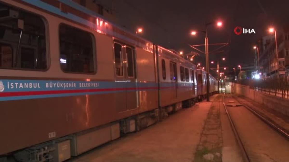 T4 tramvay hattında yaşanan arıza nedeniyle seferler durdu