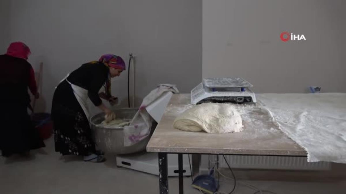 Tandır ekmeği Tatvanlı kadınların geçim kaynağı oldu