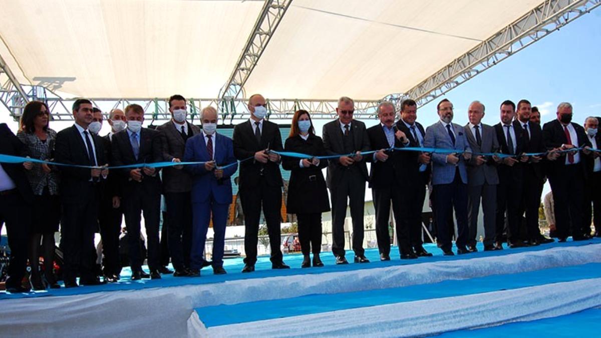 TBMM Başkanı Şentop, Trakya'nın en büyük sokak hayvanları geçici bakım evini açtı