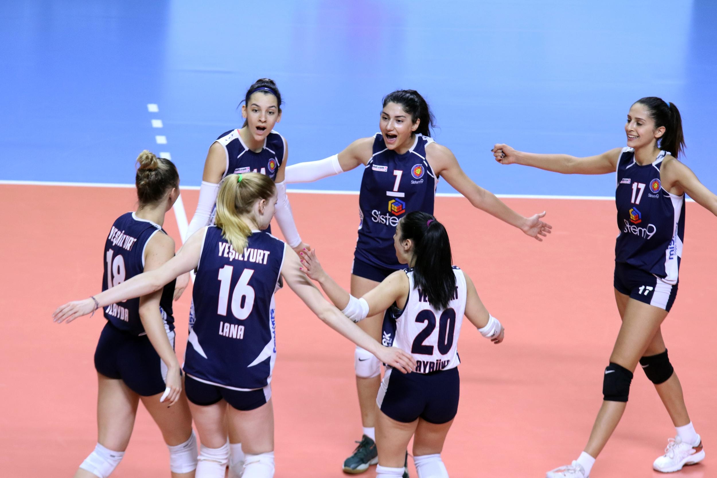Tebrikler Kızlar! Sistem9 Yeşilyurt Kadın Voleybol Takımı, Avrupa Şampiyonu