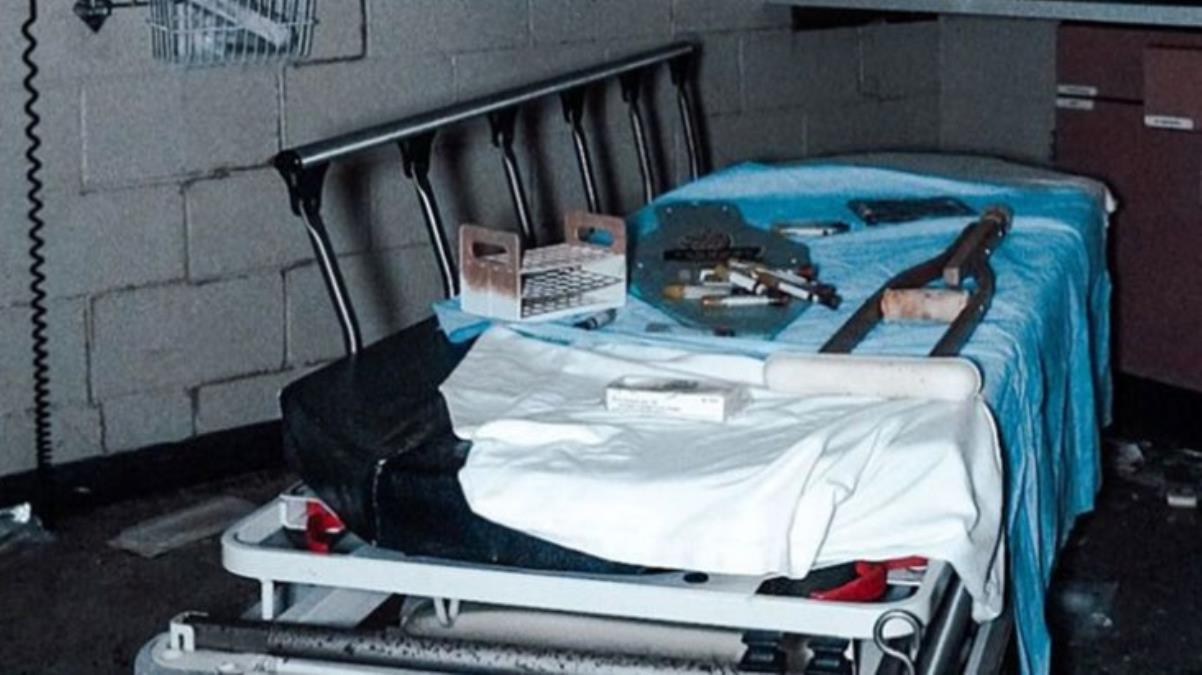 Terk edilmiş hastanede esrarengiz detay! Ameliyathanede yepyeni malzemeler bulundu