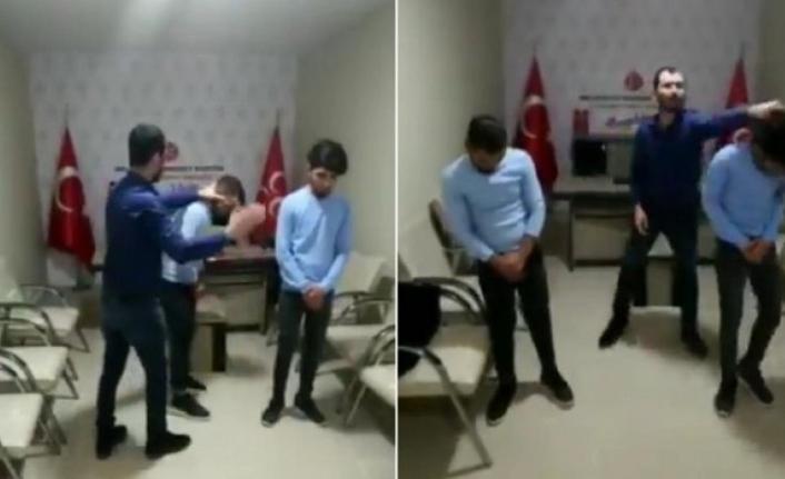 TikTok Videosu Çeken Gençler MHP'nin İlçe Binasında Darp Edildi...