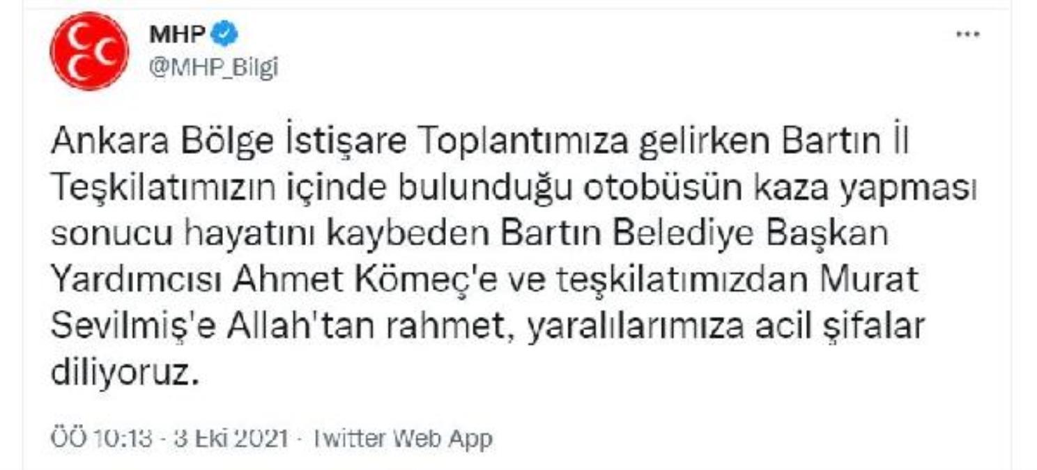 Toplantıya giden MHP'lilerin midibüsü devrildi: 2 ölü, 14 yaralı (2)