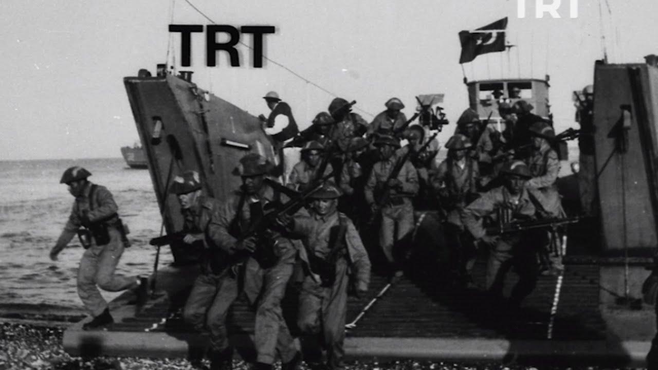 TRT Arşiv, Kıbrıs Barış Harekatı'na Ait Fotoğrafları Yayınladı