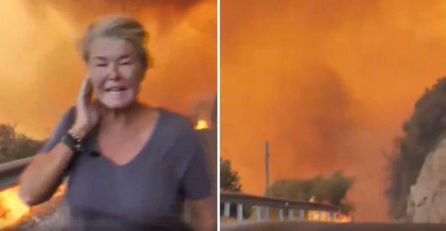 Türk Medyası Nerede? Sky News, Bodrum'da Alevlerin Arasına Girip Haber Yaptı