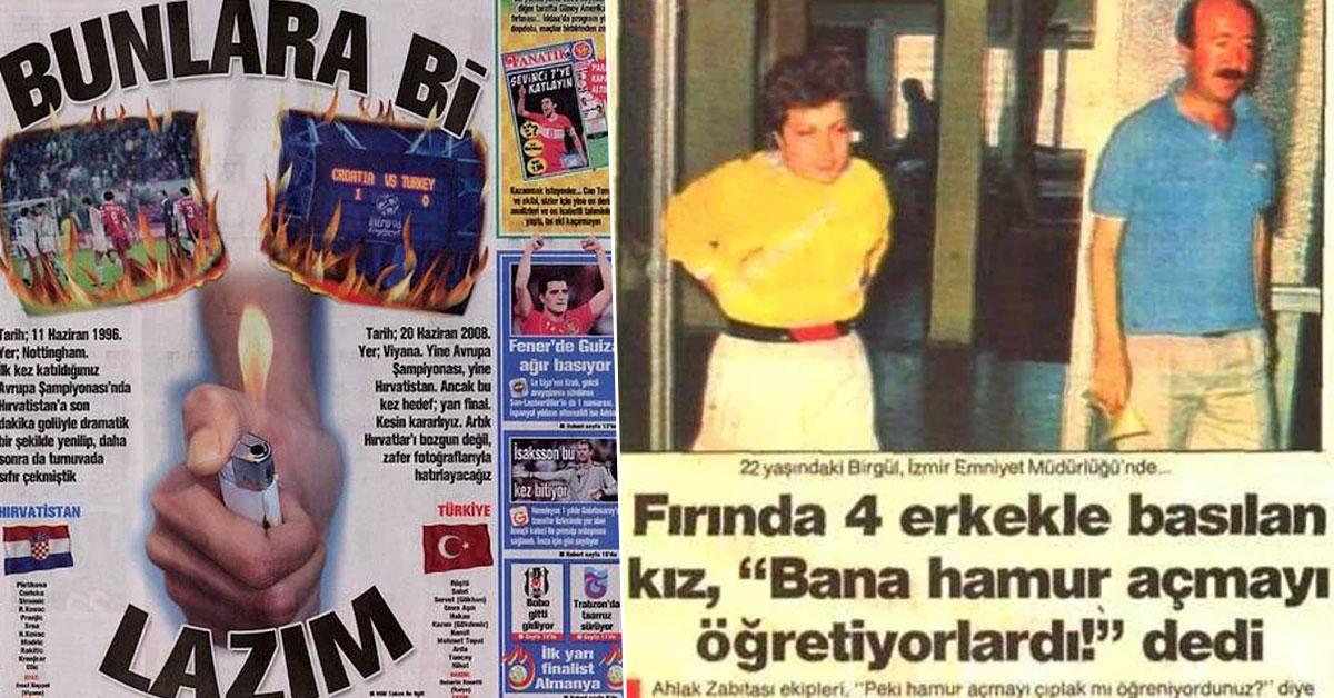 Türkiye Eskiden Daha da İlginç Bir Yermiş Dedirten Gazete Haberleri