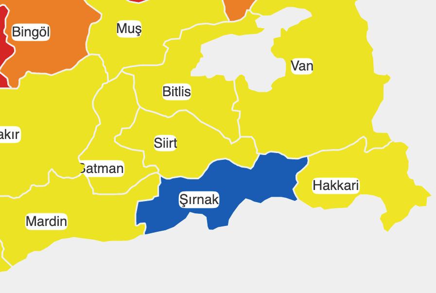 Türkiye'nin Tek Mavi Şehri: Şırnak'ın Korona İle Mücadeledeki Sırrı Ne?