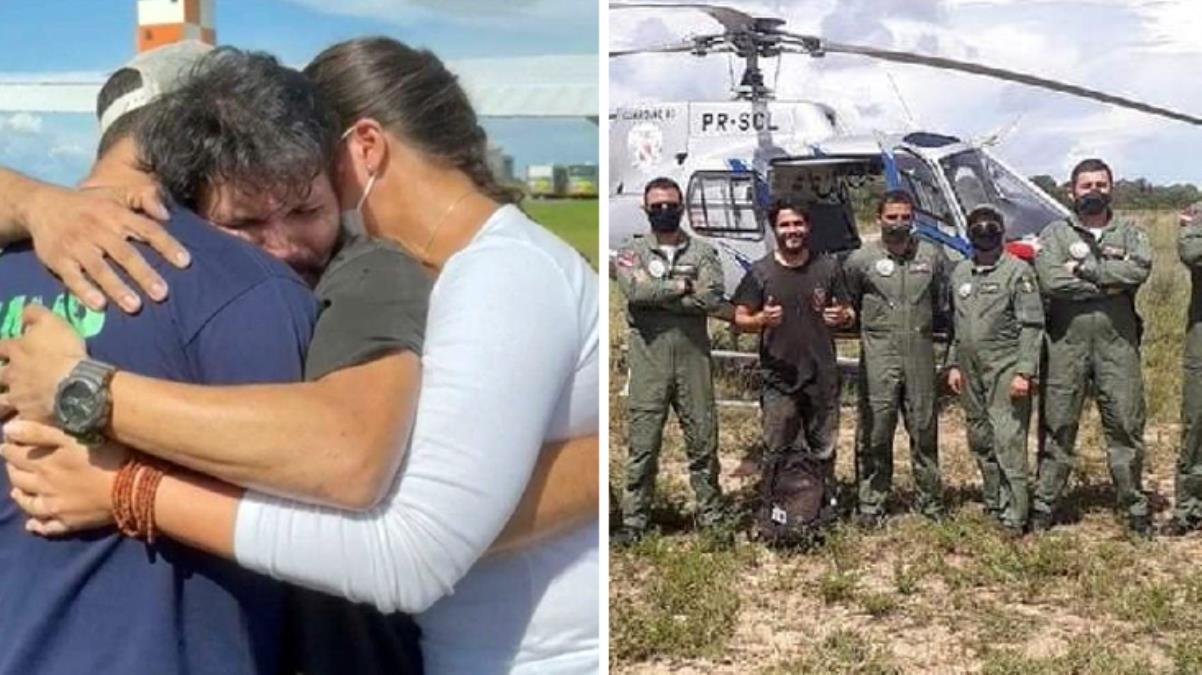 Uçak kazasından kurtulan pilot 36 gün sonra bulundu! Kuş yumurtaları ve bitkileri yiyerek hayatta kalmış