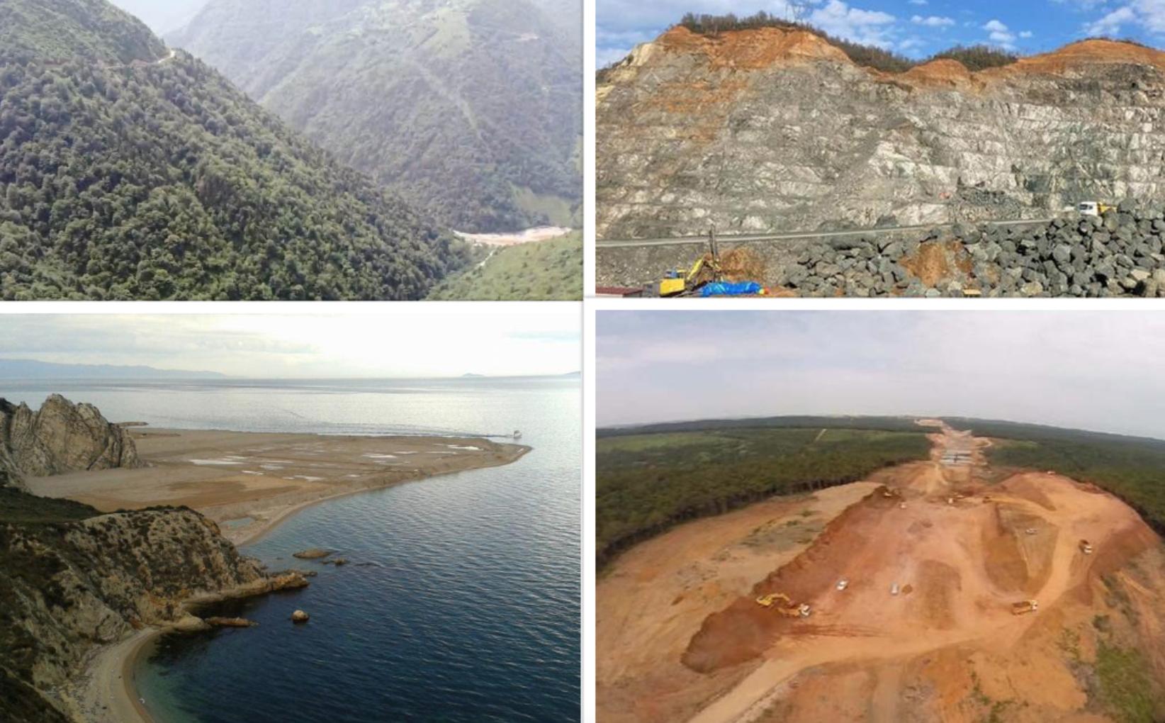 Ülkenin Güzellikleri Cengiz İnşaat'a Emanet: Yurdun Dört Bir Yanından Doğa Talanı Manzaraları
