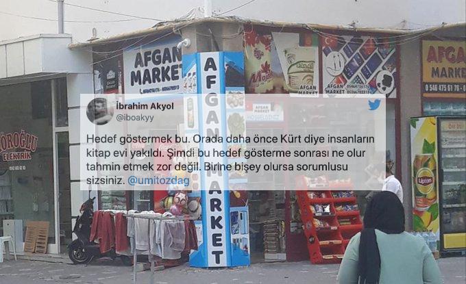 Ümit Özdağ'ın 'Sahibi Afganistanlı Genç' Diye Paylaştığı Market Fotoğrafı Tepki Çekti: 'Hedef Göstermek Bu'