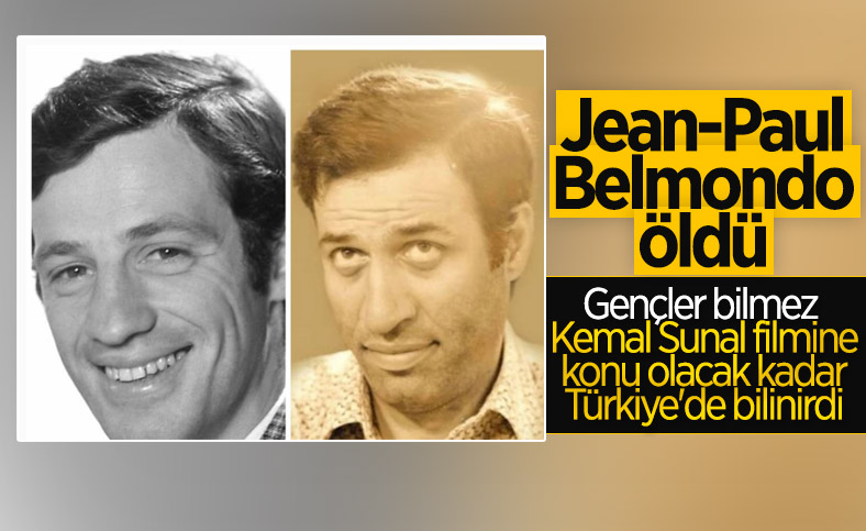 Ünlü Fransız aktör Jean-Paul Belmondo hayatını kaybetti