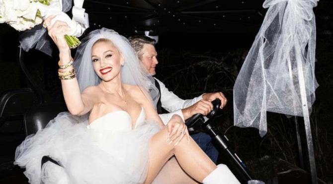 Ünlü şarkıcı düğününden ilk kareleri paylaştı