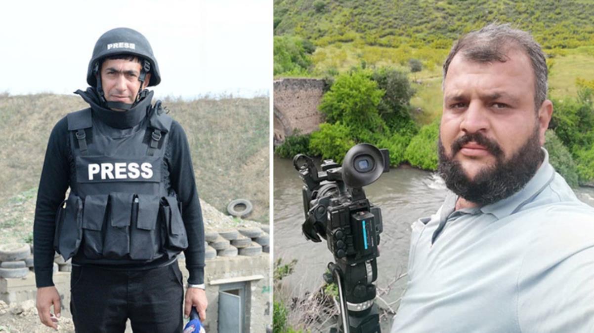 Vahim olayın görüntüleri ortaya çıktı! Azeri gazeteciler kendi ölümlerini böyle kaydetti