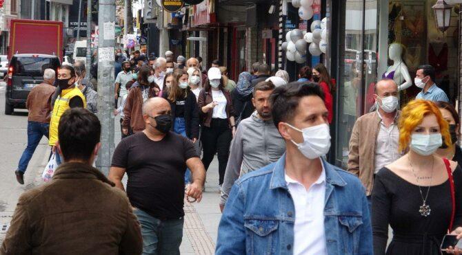 Vakaların en çok arttığı Zonguldak'ta haritada kızardı