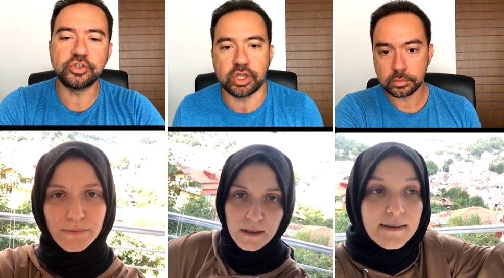Yardım Çağrısı Yapan ve Çirkin İthamlara Maruz Kalan Kübra Çelik, Kaan Sekban'ın Canlı Yayınına Katıldı