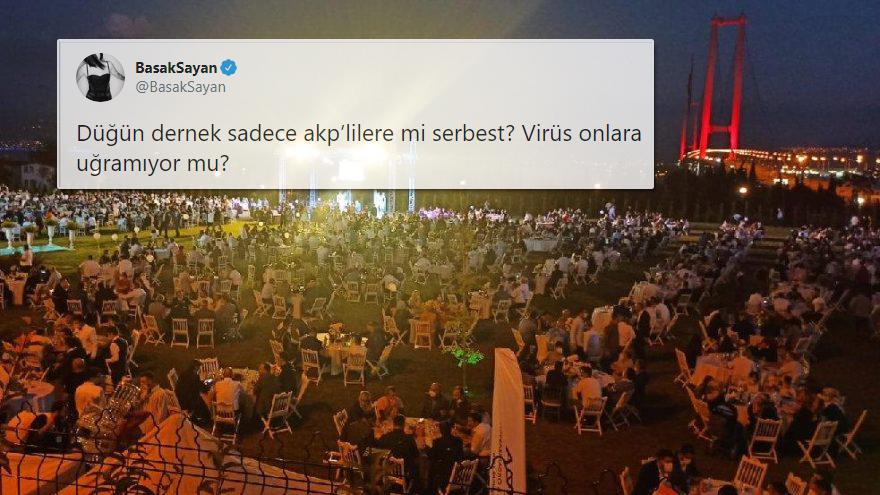 Yasaklar Hiçe Sayıldı: AKP'li Vekilin 1500 Kişilik Düğünü Tepkilerin Odağında