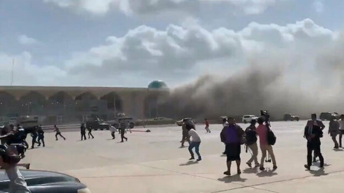 Yemen'deki patlama saniye saniye kameralarda