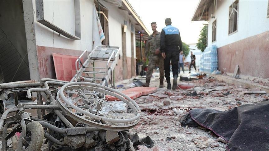 YPG Afrin'de Hastanede Tedavi Gören Sivillere Saldırdı: 13 Ölü, 27 Yaralı