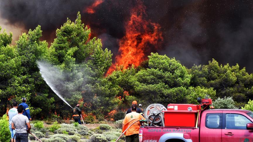 Yunanistan'da İki Bakan Görevden Alındı: Gerekçe Orman Yangınlarına Geç Müdahale