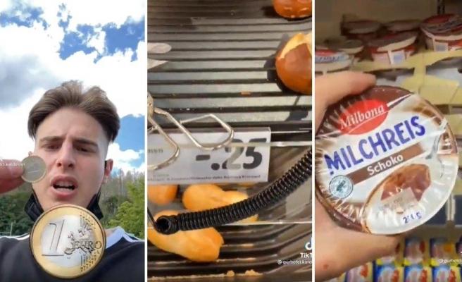 1 Euro ile Almanya'da Karnını Doyurmaya Çalışan Gencin Moral Bozan Videosu
