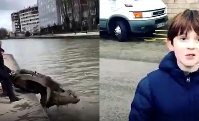11 Yaşındaki Çocuğun Paris'in Ortasındaki Nehirden Çıkardığı Çöpleri Görünce Çok Şaşıracaksınız