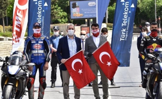 19 Mayıs Atatürk Rallisi gerçekleşti