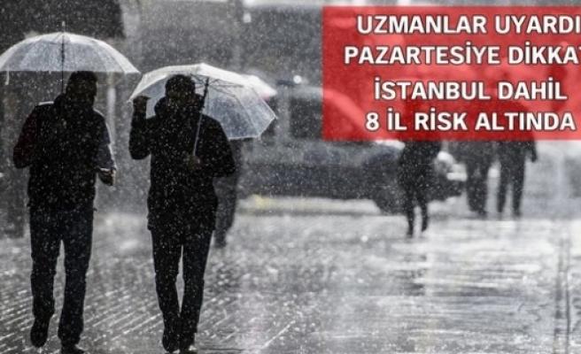 Yağış uyarısına dikkat!