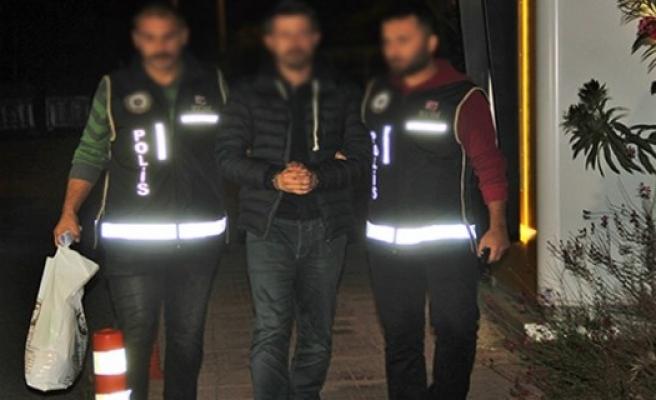 Yunanistan'a kaçma hazırlığındayken yakalandı