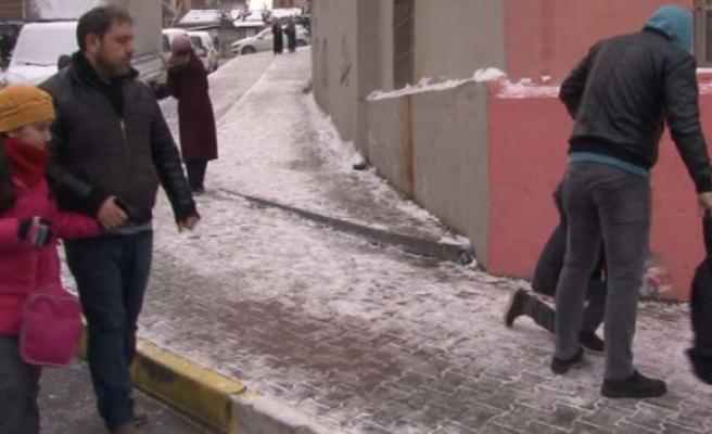 İstanbulluların karla imtihanı