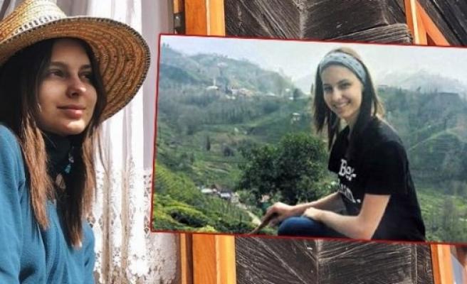 Jessica May'in Rize'de mıhlama keyfi