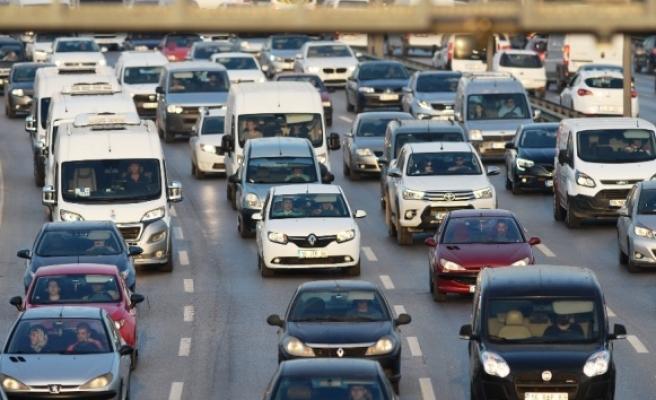 Trafiğe kaydı yapılan taşıt sayısı yüzde 14 arttı
