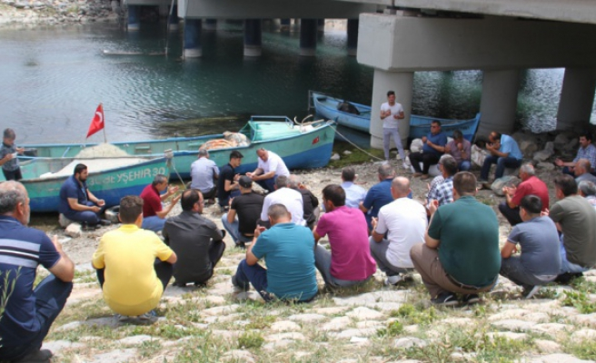 Beyşehir Gölünde yeni av sezonu dualarla başladı