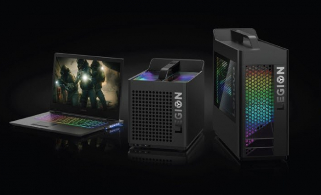 Lenovo'dan GeForce RTX'li PC!