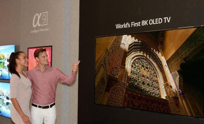 LG'den devasa 8K OLED TV!