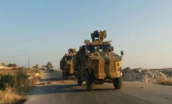 TSKdan İdlib ve Hamaya askeri takviye