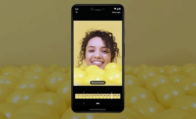 Pixel 3'te çentik neden yok?