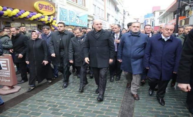 AK Parti Genel Başkan Yardımcısı Kurtulmuş: 'AK Parti'yi Türkiye'nin her yerinde inşallah birinci parti çıkaracağız'