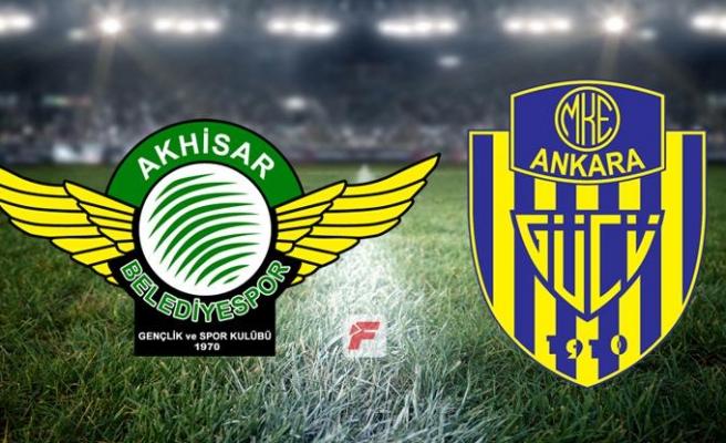 Akhisarspor - Ankaragücü maçı hangi kanalda, saat kaçta?