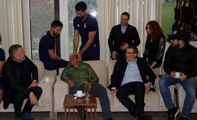 Alex de Souza yıllar sonra Samandırada! Fenerbahçeyi çok özlemiş