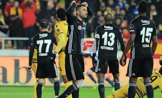 Beşiktaş Malatyadan 3 puanla dönüyor