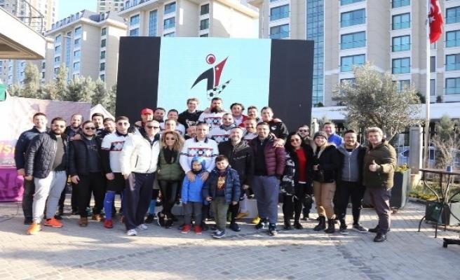 Futgolf heyecanı İstanbul Ataşehir'de yaşandı