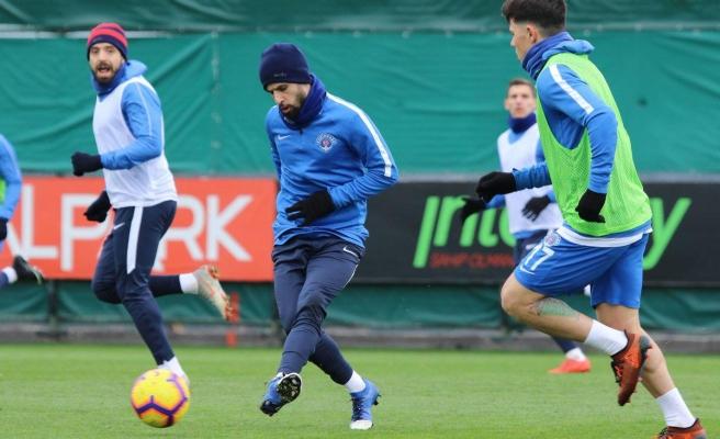 Kasımpaşa'da Galatasaray maçı hazırlıkları sürdü