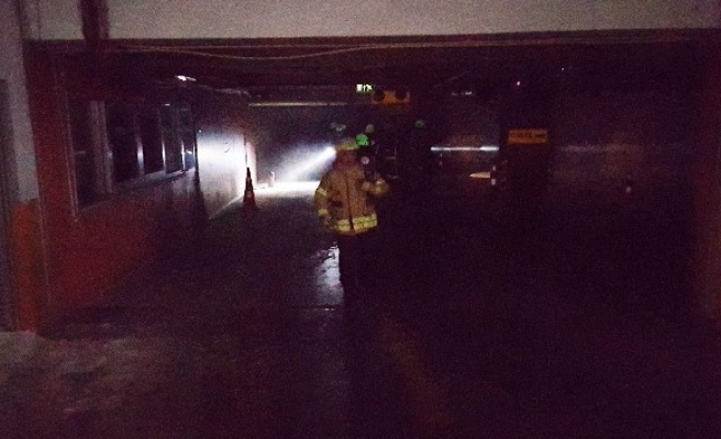 Şişli Belediyesinde yangın paniği