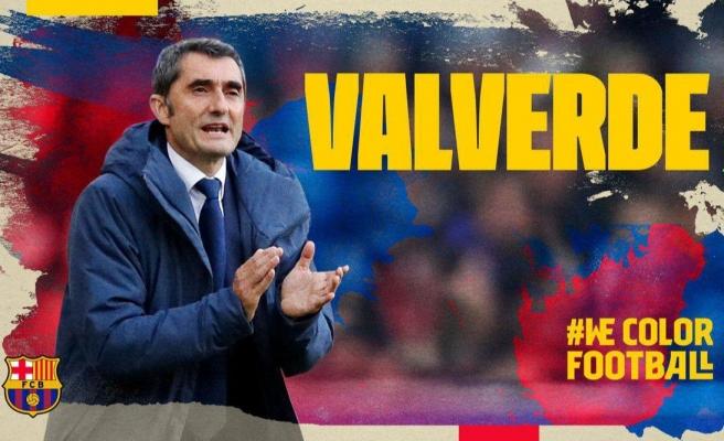 SON DAKİKA | Barcelona, Ernesto Valverde ile sözleşme yeniledi!