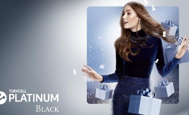 Turkcell 'Turkcell Platinum Black' paketi müşterilerinin kullanımına sundu