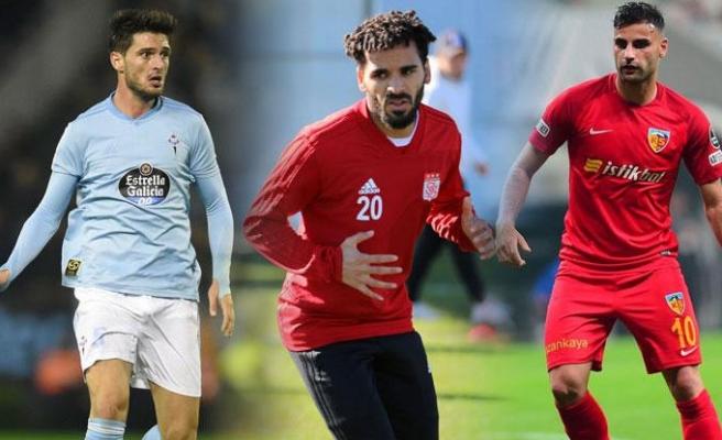 Galatasarayda transfer harekatı! 3 bomba birden