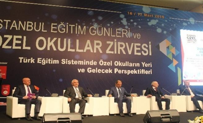'İstanbul Özel Okullar Zirvesi' gerçekleşti