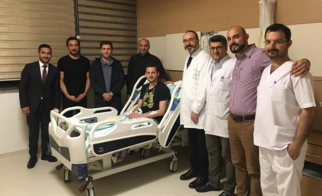 Konyasporlu Diagne ve Mücahit ameliyat oldu